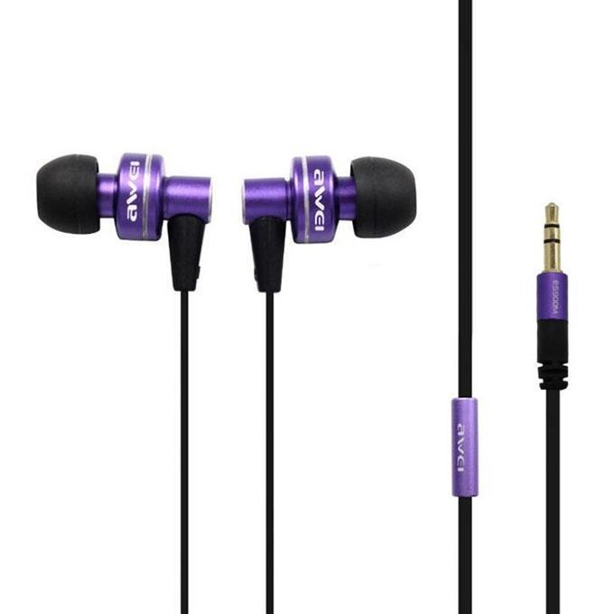 Es 900M Metal Bass In Ear Earphone & Headphone