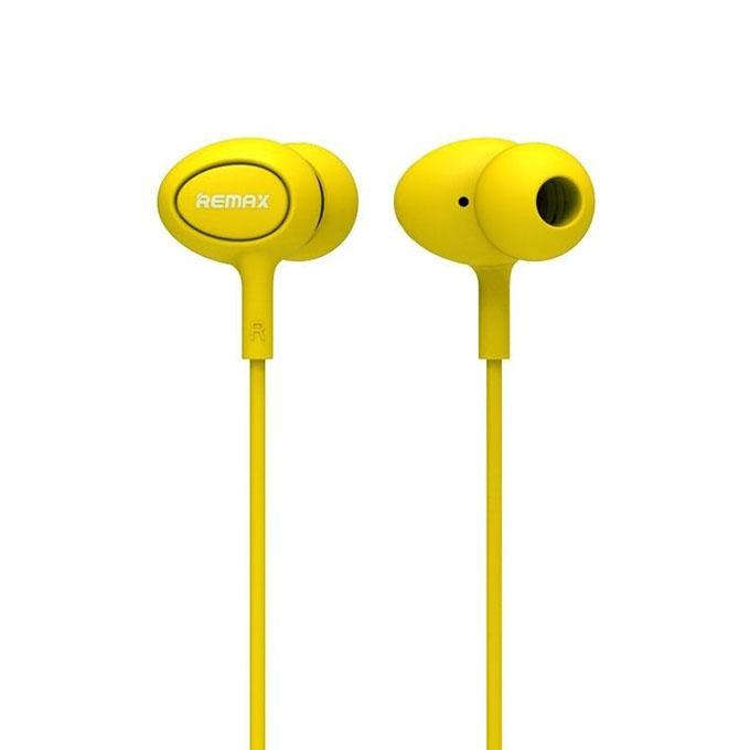 RM-515 Candy Series In-Ear Earphone - Yellow
