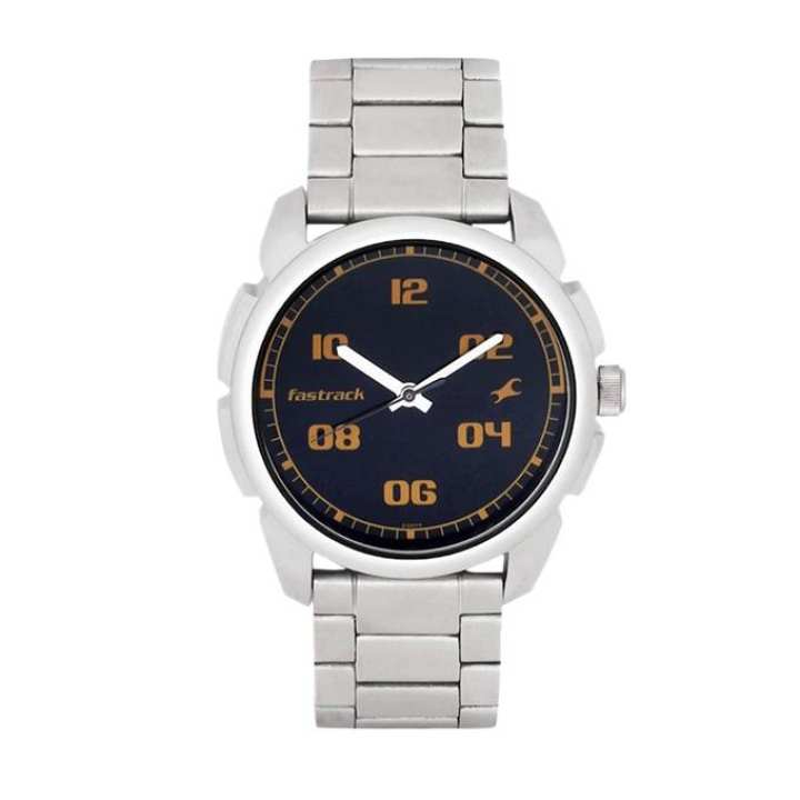 3124SM02 - Stainless Steel Analog Watch For Men - Silver