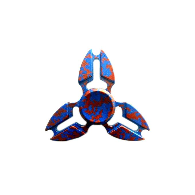 Metal Fidget Spinner Toy by SpinnerPro - One of the Best Hand Spinners for Fidgeters- Multicolor