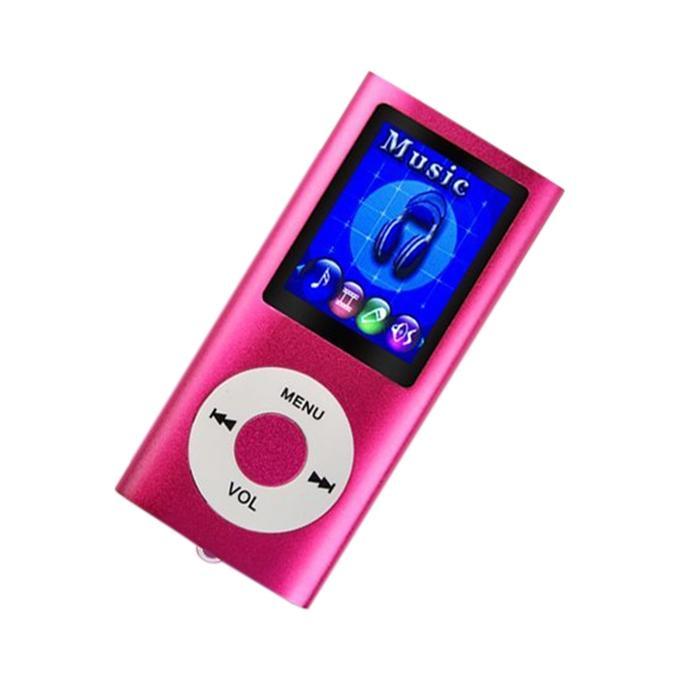 Digital MP4 Player - Pink