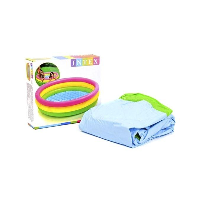 Inflatable Pool for Baby - Multi-color