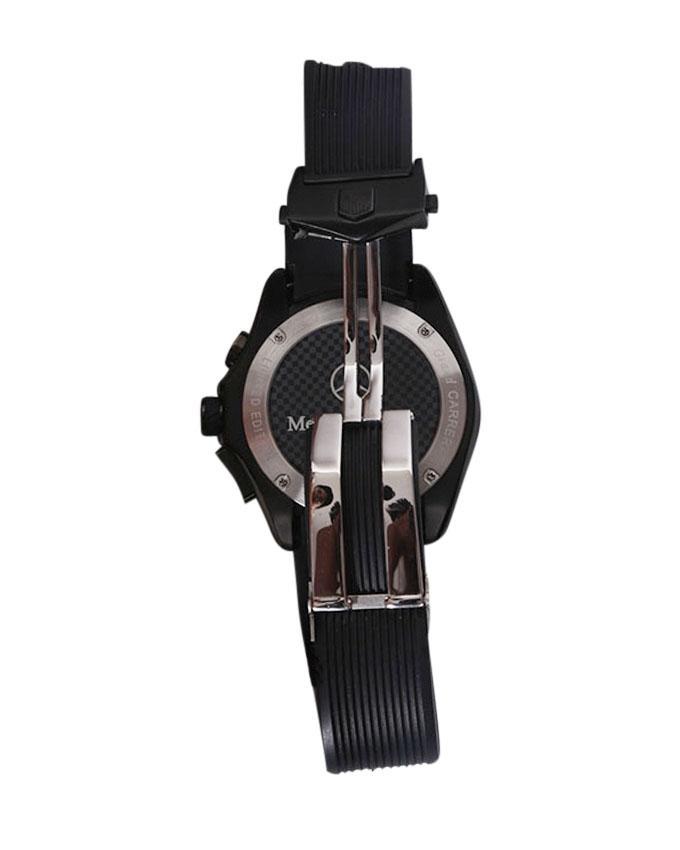 TAG Heuer Black Rubber Belt Watch For Men