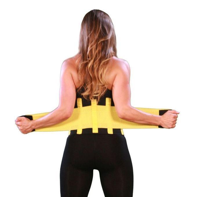 Power Belt - Black and Yellow