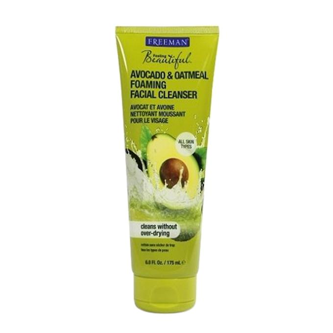 Beautiful Avocado and Oatmeal Foaming Facial Cleanser all skin types - 175ml