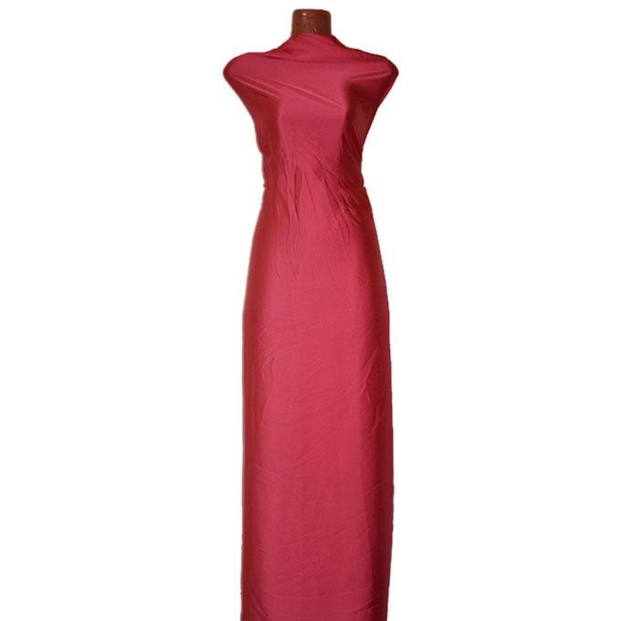 Indian Red Chinese Shamu Silk Unstitched Fabric