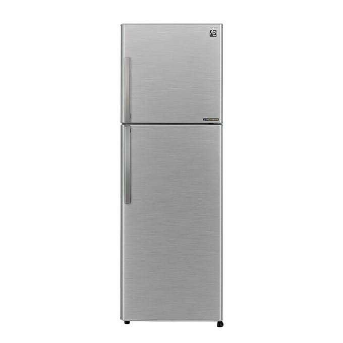 SJD32ESL Top Mount Refrigerator - 378 L - Silver
