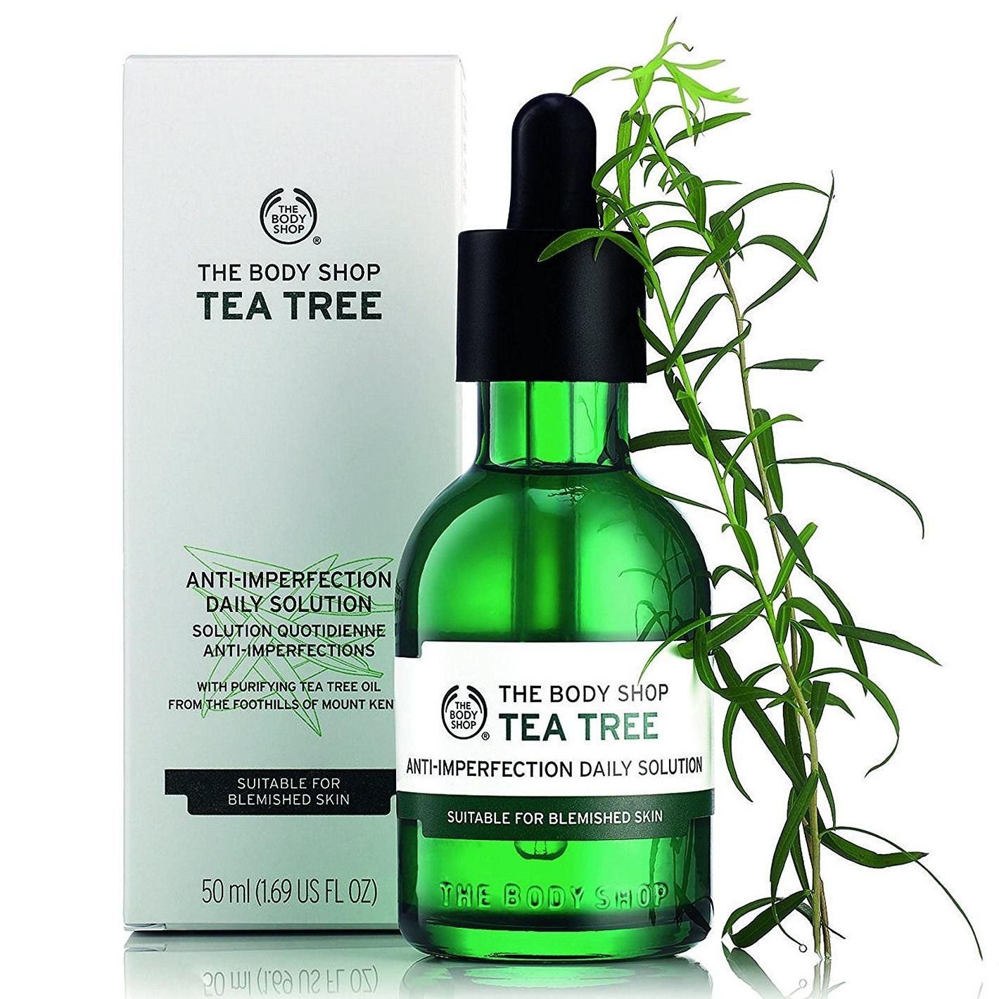 The Body Shoptaazakpower Buy At Best Shop Tea Tree Oil 10ml Anti Imperfection Daily Solution