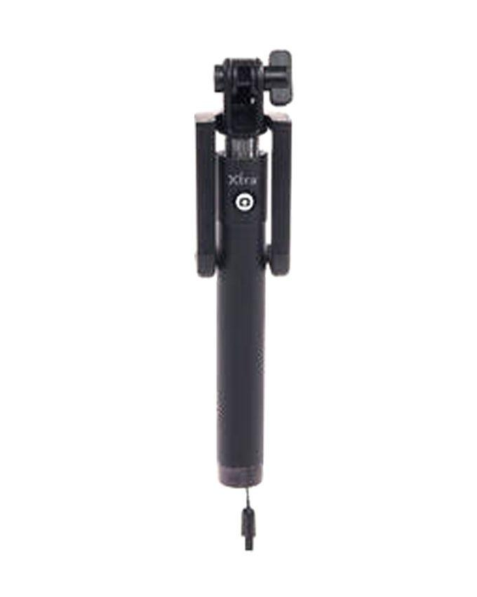 Locust Premium Selfie Stick For Apple and Android Devices  - Black