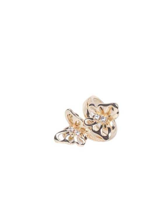 Golden Metal Finger Ring for Women