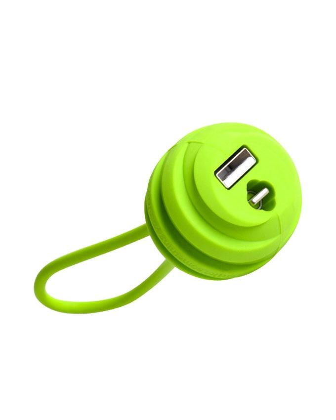 U3 Quick Charge and Micro USB Data Cable - 18 cm - Green