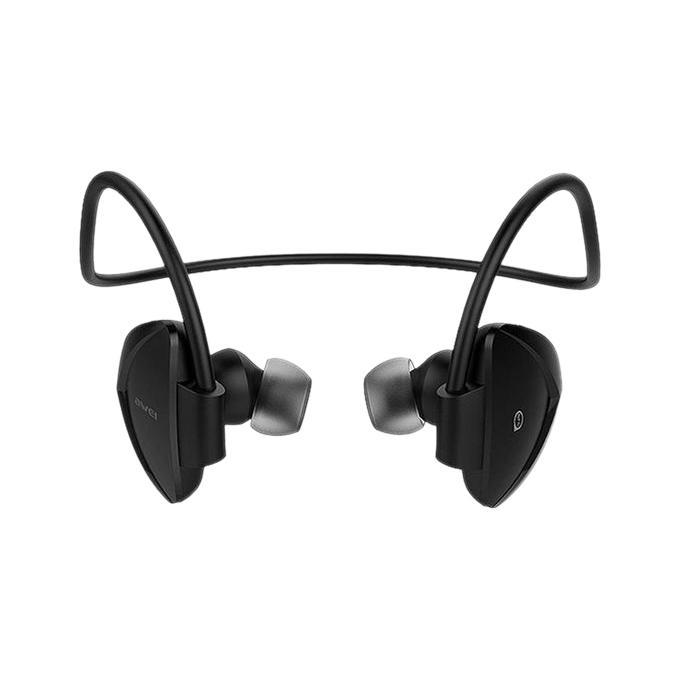 Universal Sport Wireless Bluetooth v4.0 Headphone A840BL  - Black