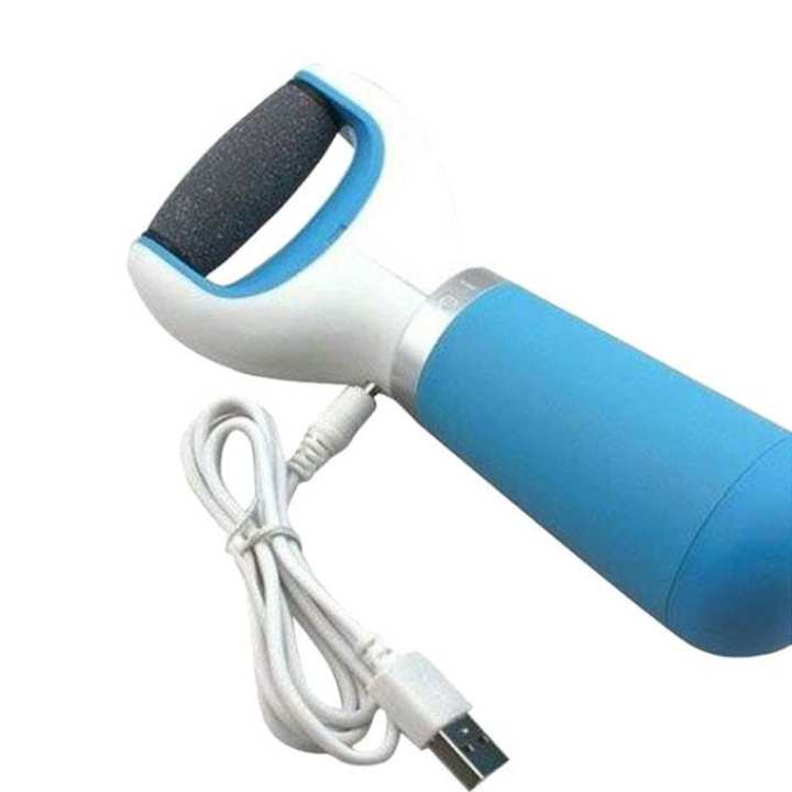 Scholl Velvet Smooth Electronic Foot Cleaner - Blue