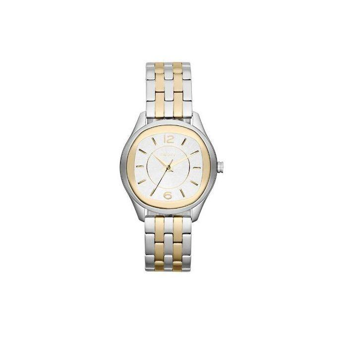 Two-tone Stainless Steel NY8828 Empire Wrist Analogue Watch For Women - Gold and Silver