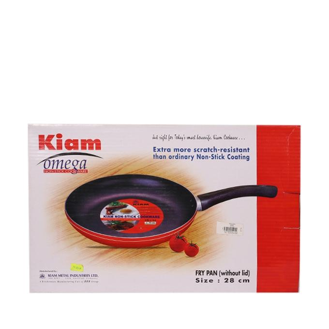Fry Pan - Black and Red