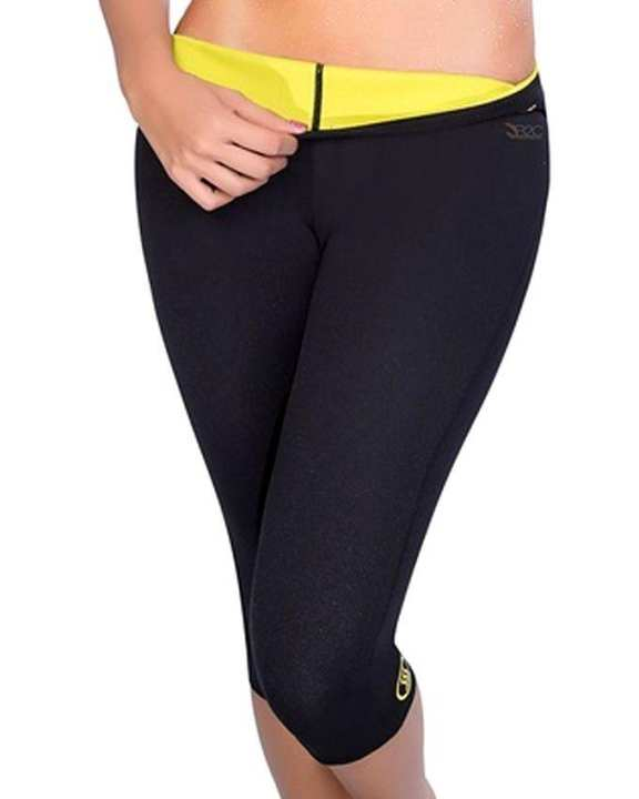 Hot Shapers Thermal Slimming Hot Pants - Black
