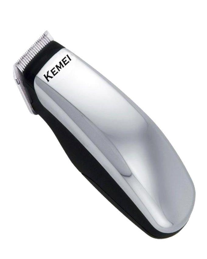 KM-9612 Mini Electric Hair Clipper/Trimmer - Silver