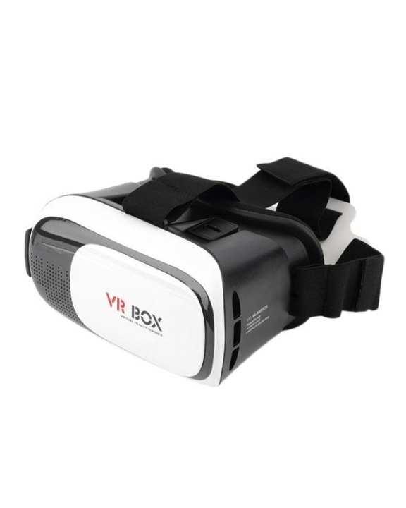 VR Box 3D Glass - White & Black