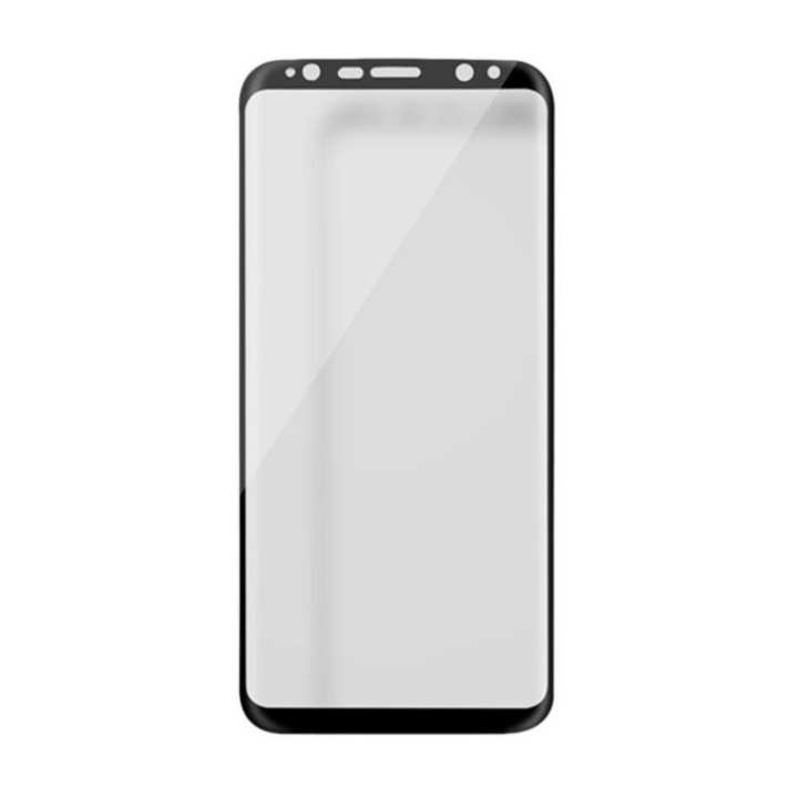 3D CP Plus MAX Anti-Explosion Glass for Galaxy S8 plus - Black
