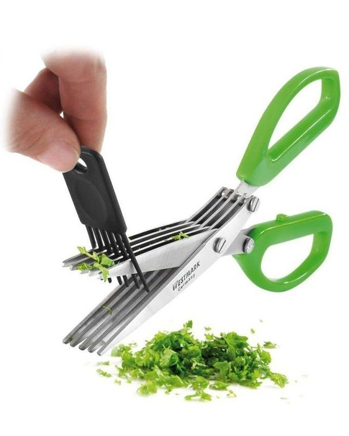 4 In 1 Vegetable Cutter & Chopper - Green and Red