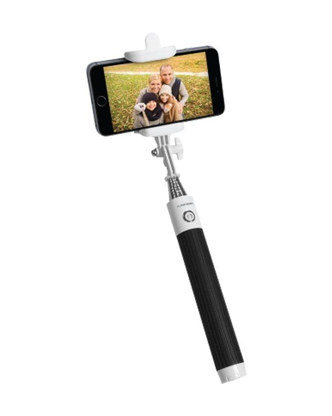 Compact Bluetooth Selfie Stick - Black
