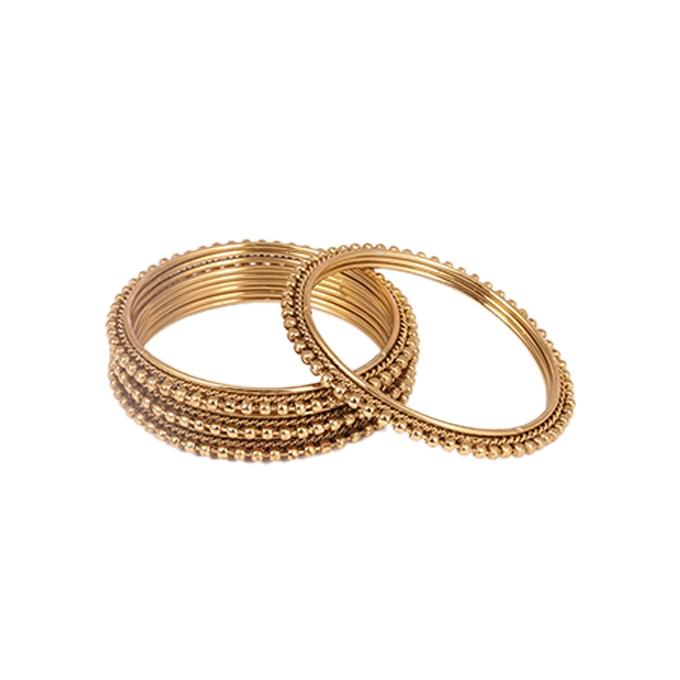 Golden Bangles For Women