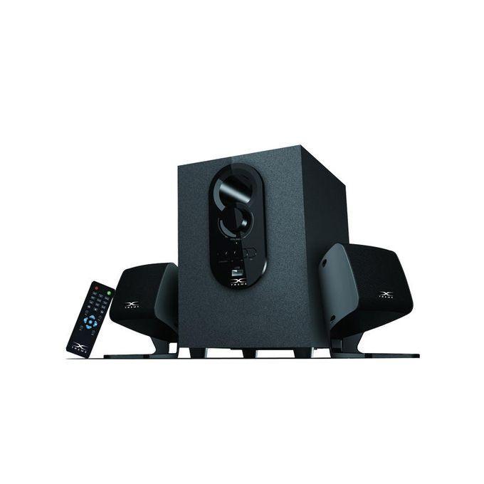 X-Treme E129U Bluetooth  - 2.1 Channel USB Multimedia Speaker - Black