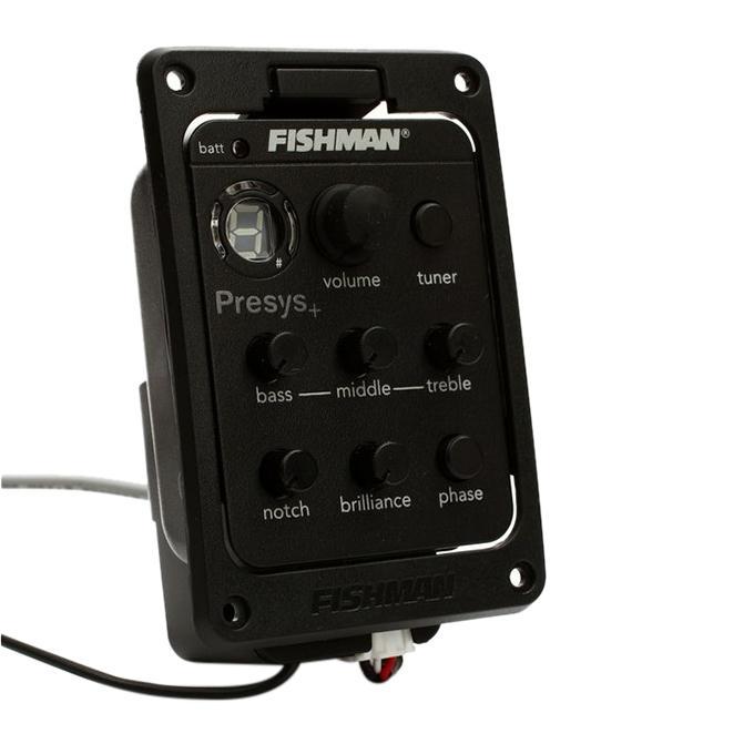 Fishman 201 Acoustic Guitar Pickup - Black