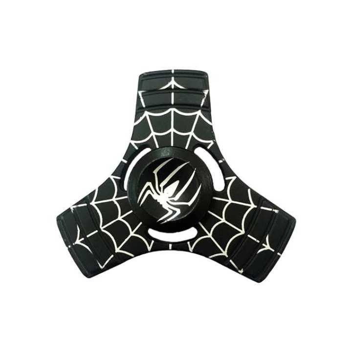 Spider Man Super Hero Fidget Spinner - Black