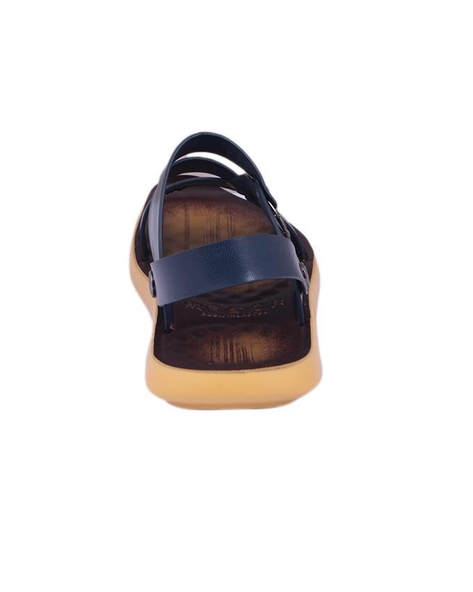 PU Sandal For Men - Navy Blue