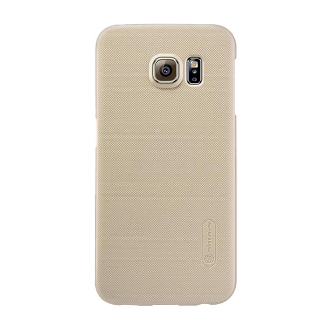 Gold Super Frosted Shield Back Cover for Samsung Galaxy S6 Edge PLUS