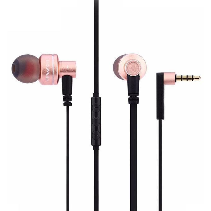 ES 10TY Noise Isolation In-ear Earphone – Rose Gold
