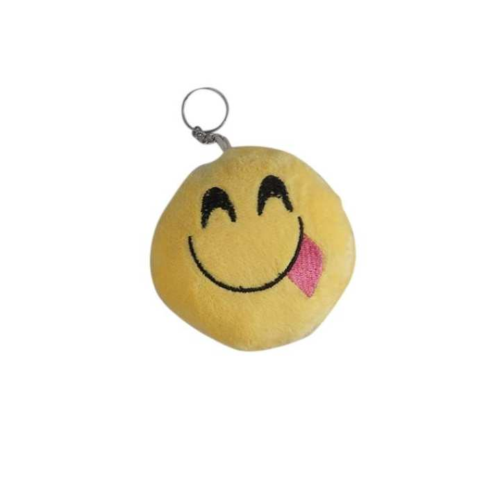 Cotton Cheeky Key Ring - Yellow