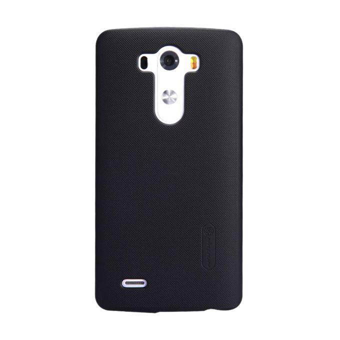 LG G3 D855 Super Frosted Shield Back Case - Black