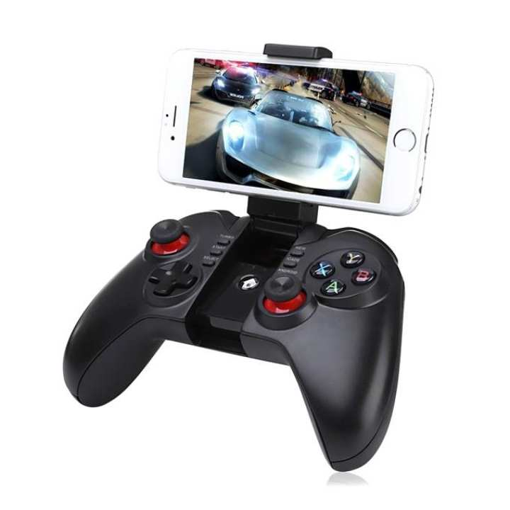 9068 Wireless Controller Gamepad Pro for Smartphone - Black and Red