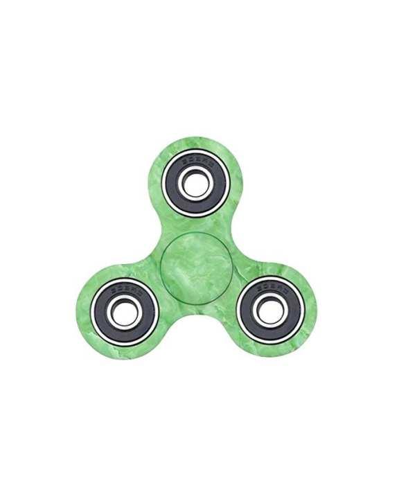 EDC Printed Fidget Spinner Stress Reducer Toy – Green