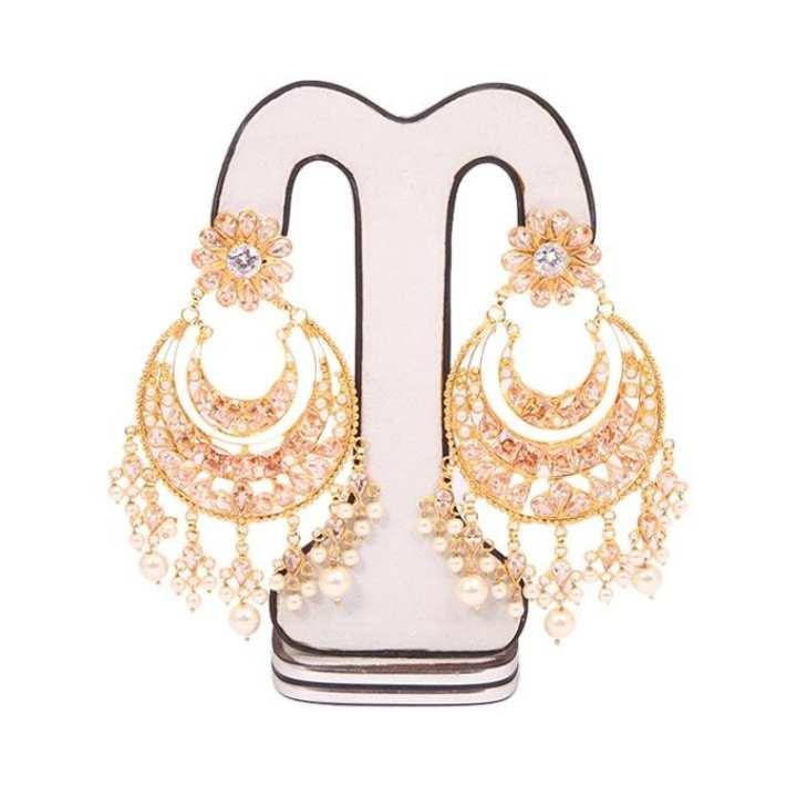 Golden Joypuri Gold Plated Ear Ring For Women