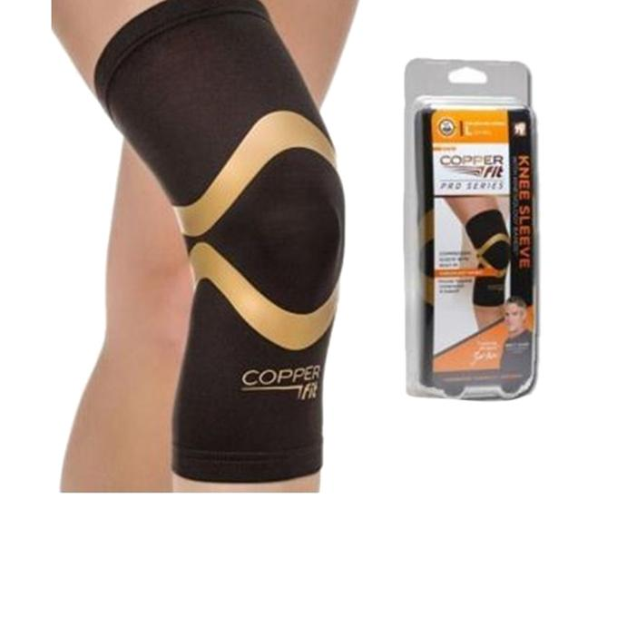Copper Fit for Knee and Elbow - Black And Golden