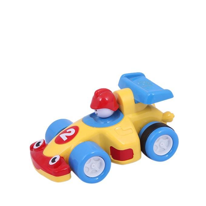 Plastic Car - Yellow