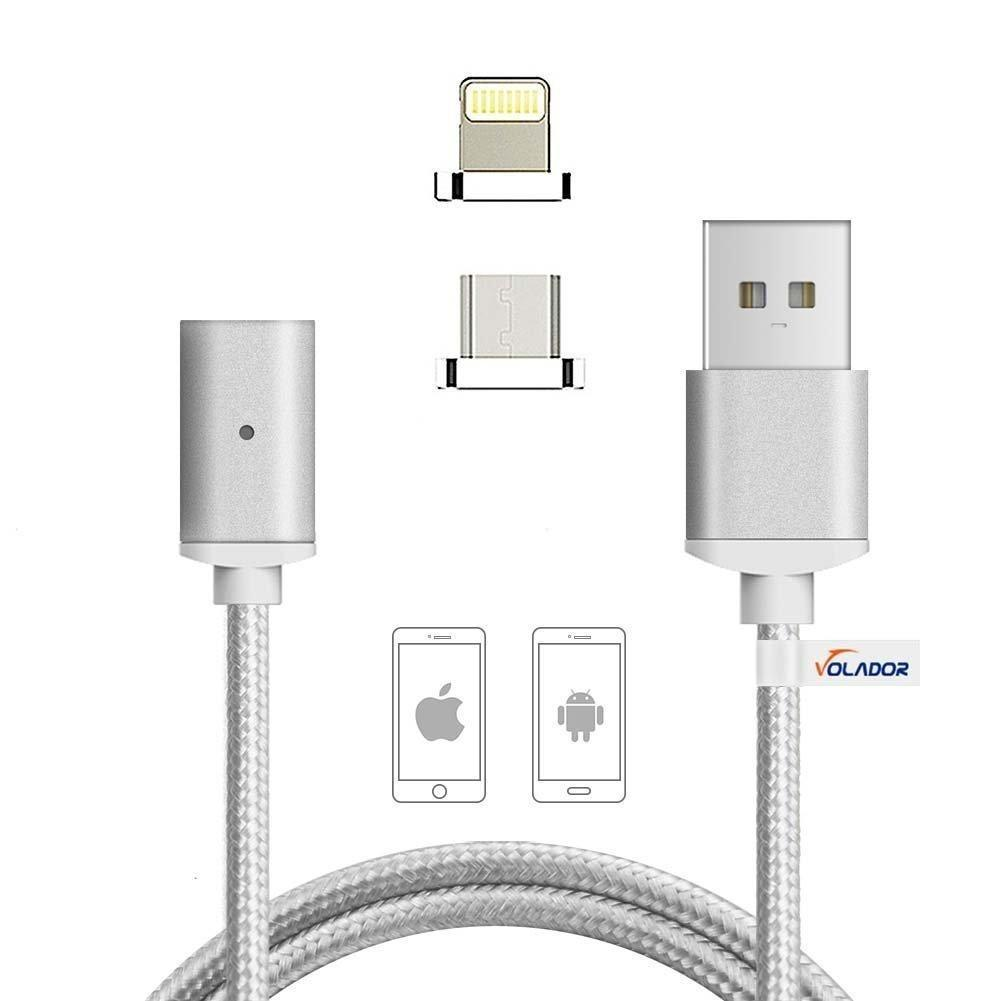 2 in 1  Magnetic Cable - Silver