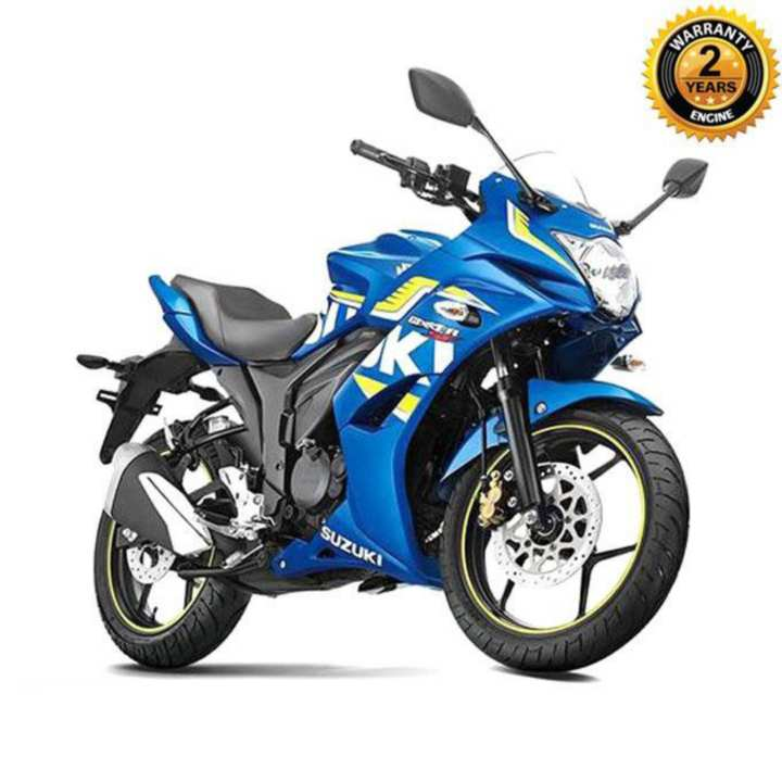 Gixxer SF Moto GP Edition (Dual Disc) - Blue