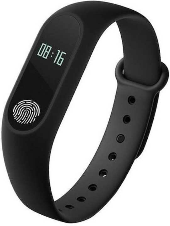 M2 Waterproof Smart Fitness Band - Black