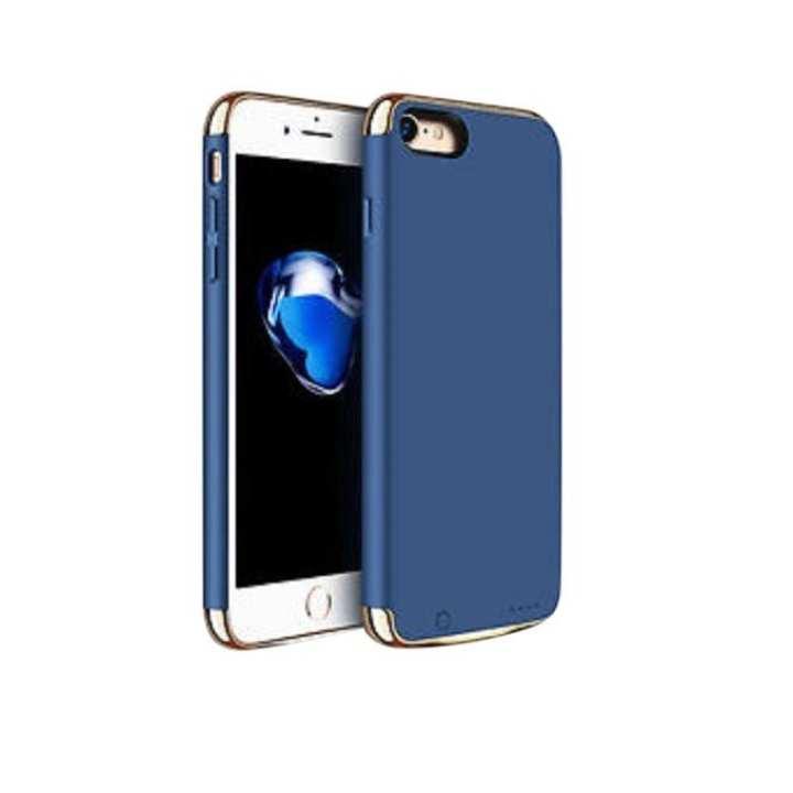 External Backup Battery Power Bank Case For iphone 7 2500mAh - Blue