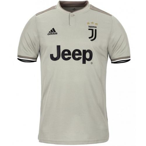 new product 0117a 4eb16 2018-19 Juventus Away Short Sleeve Jersey - Mesh Cotton