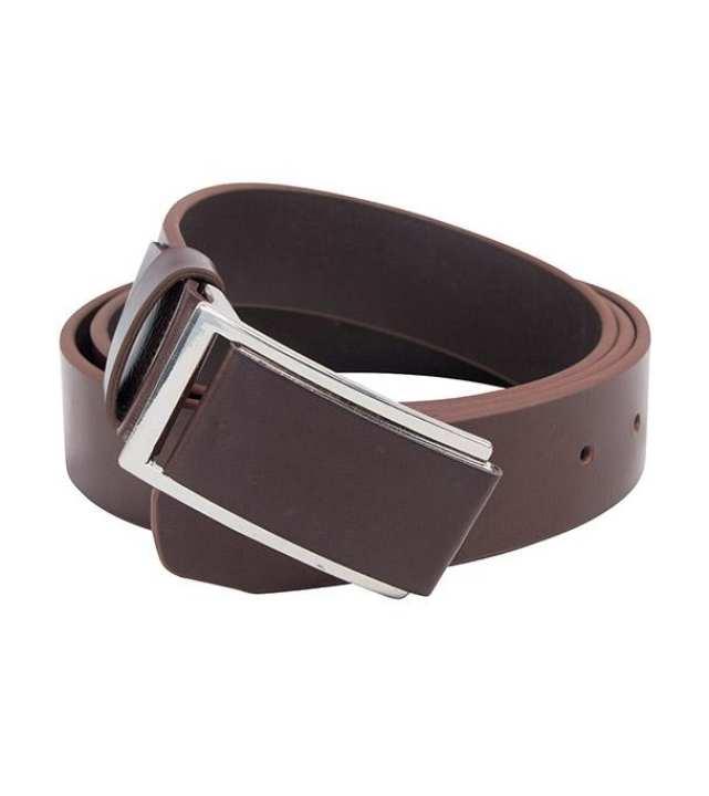 Coffee Formal Belt For Men