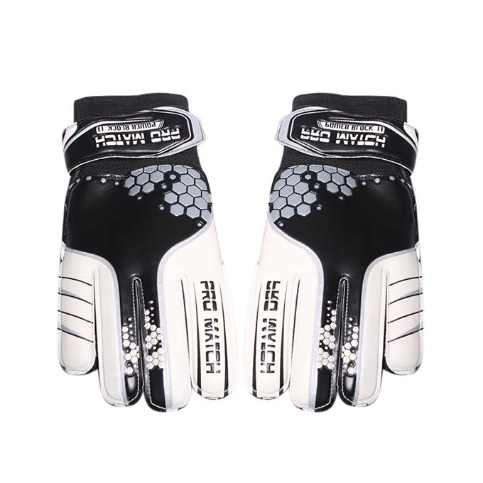 Football Hand Gloves – Black and White