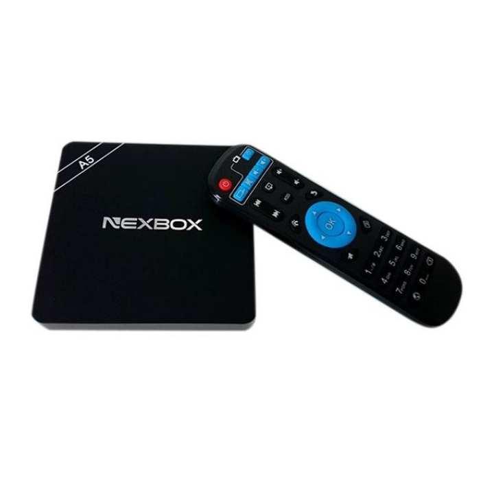 NEXBOX A5 Smart TV Box - Black