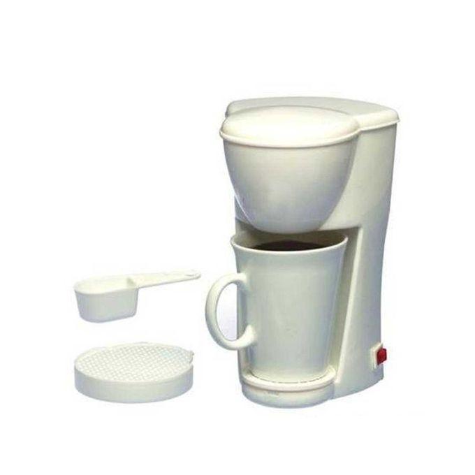 Mini Coffee Maker - White