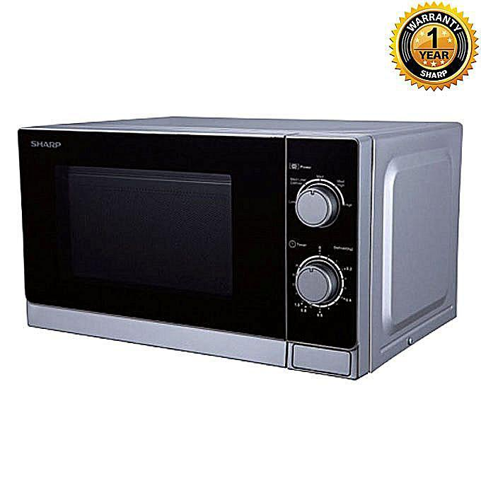 R 20a0v Microwave Oven 20 Liters Black And Silver