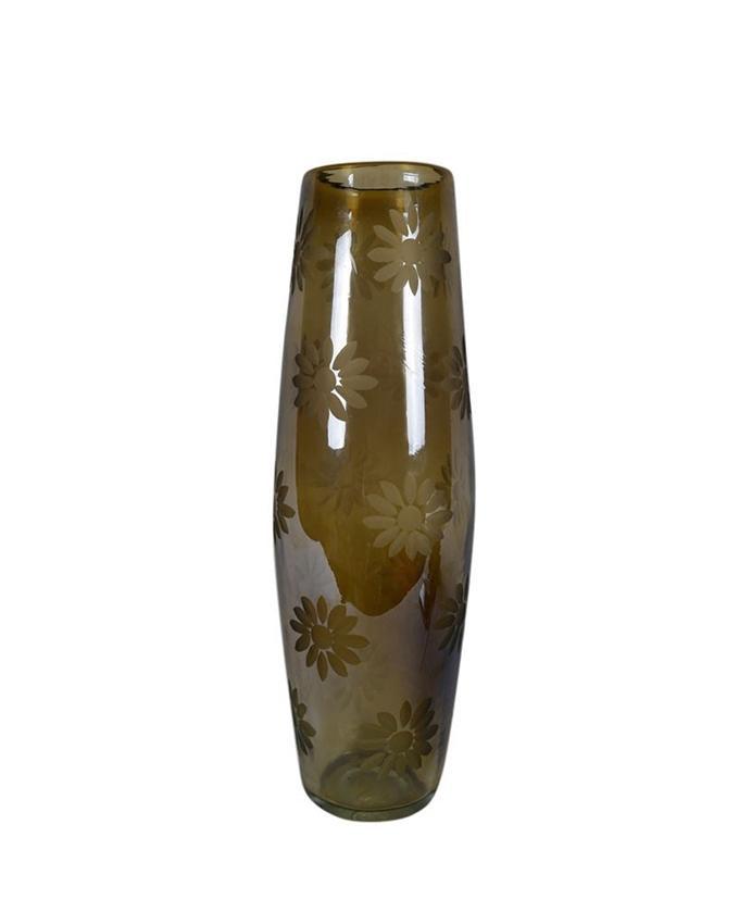 Glass Vase - Coffee